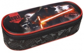 Star Wars etui plat rood/zwart (8506)
