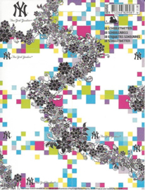 New York Yankees girls etiketten wit (9581)