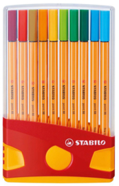 Stabilo Point 88 fineliners 20st (7135)