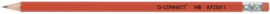 Standaard HB potlood met gum