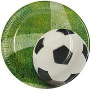Voetbal wegwerpborden