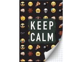 Emoji boy's A4 wiskundeschrift