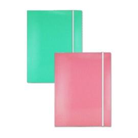 Elastomap A4 turquoise roze (5279)