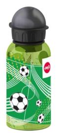 Drinkfles kunststof voetbal
