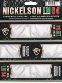 Nickelson tm54 etiketten AKTIE (8773)