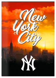 """New York Yankees lijntjes schrift A4 """"city"""" (2103)"""