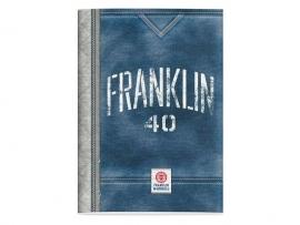 Franklin & Marshall boy's A4 schrift lijntjes (3186)