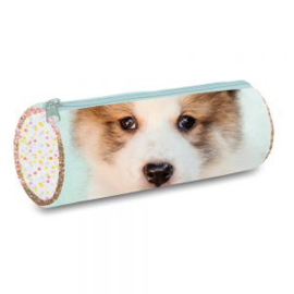 My favourite friends etui hond stip (4028)