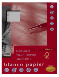 Multo blanco papier 23 rings 80 grams (5901)