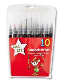 10 penseelstiften