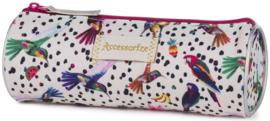 Accessorize Sweet etui rond vogels (7080)