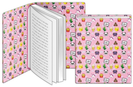 Rekbaar boekenkaft Emo Fun A4