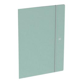 Quattro Colori elastomap A4 groen (7889)