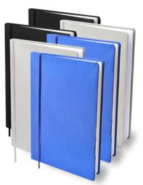 Dresz rekbaar kaft mix zwart/grijs/blauw A4 (3392)