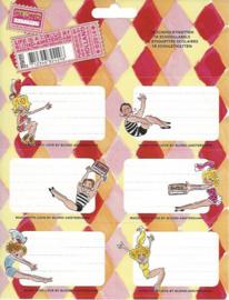 Blond Amsterdam etiketten circus (4296)