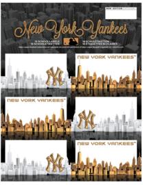 New York Yankees etiketten zwart-goud (4312)