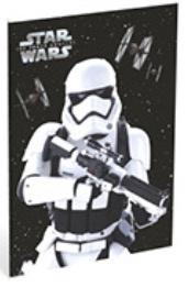 Star Wars Galaxy A4 schrift gelinieerd