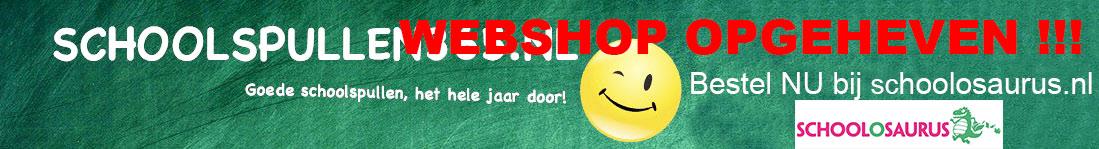 Schoolspullen365 wordt schoolosaurus.nl