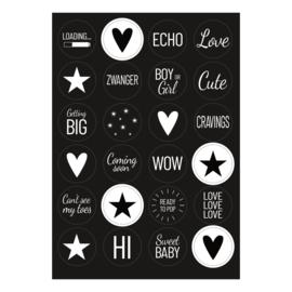 Sticker | Zwanger