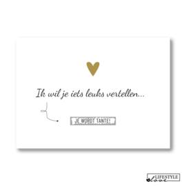 Kraskaart | Tante