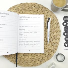 Invulboek | Crèche- en oppasboek | Zo was mijn dag