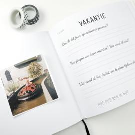 Invulboek | Opgroeiboek | 1 tot 4 jaar