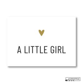 Kaart | Little girl