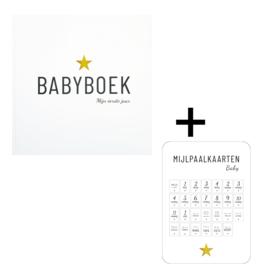 Invulboek Babyboek + Mijlpaalkaarten