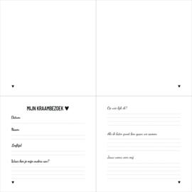 Invulboek | Kraambezoek | De mooiste wensen voor mij
