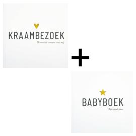 Invulboek Kraambezoekboek + Babyboek