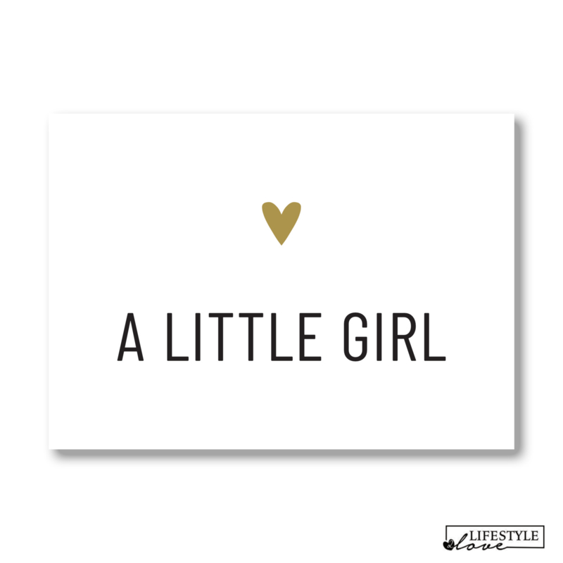 Kaart | Little girl