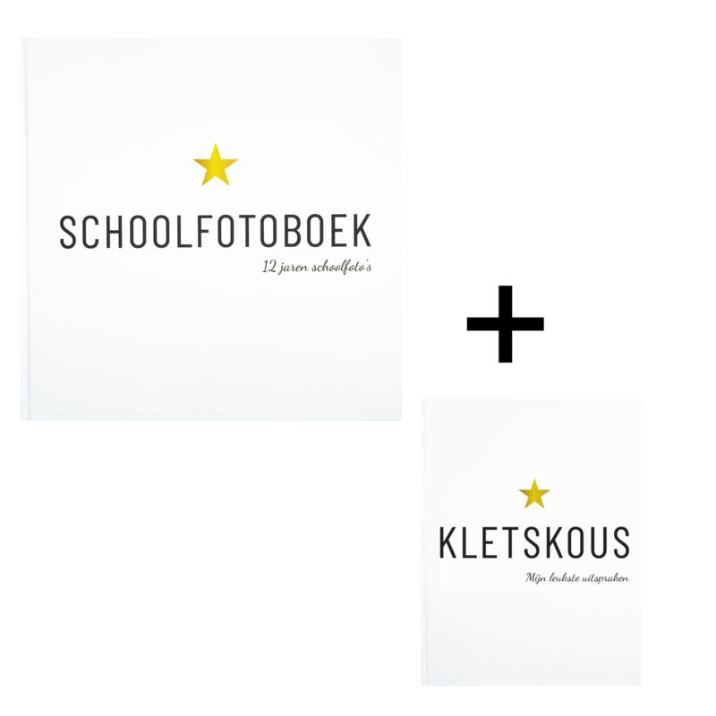 Invulboek Schoolfotoboek + Kletskous