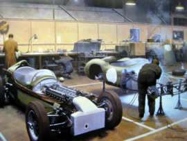 Aston Martin DBR1/DBM4 Competition Department Feltham 1959