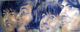 """Fine Art Print - The Beatles """"All We Need Is Love"""""""