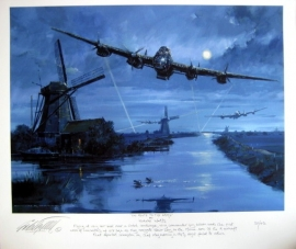 "Giclee ""En Route to The Dams"" Lancaster 617 Sqn - Möhnedam 1943"