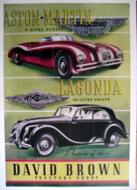 Aston Martin - Lagonda - David Brown - Limited 50 Pcs.
