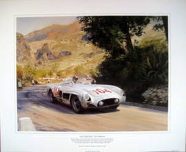 """Battered But Victorious"" Mercedes-Benz 300 SLR Targa Florio 1955 Moss/Collins"