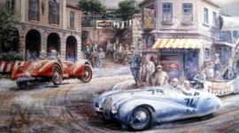 """""""Mille Miglia 1940"""" - BMW 328 Spider #74 - Adolf Brudes/Ralph Broese"""
