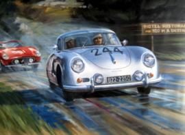 """"""" Mille Miglia 1955 """" Porsche 356 1300 Super - von Frankenberg/Oberndorf"""