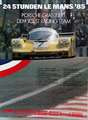 Porsche 24 stunden Le Mans 1985 - Orginal Porsche Affiche