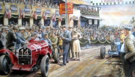 """Targa Florio 1930"" Alfa Romeo P2 (Alfa Corse) Achille Varsi"