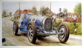"""Historical Race France"" - Bugatti #8"