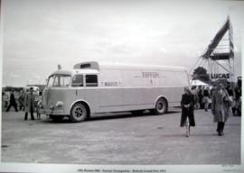 Alfa Romeo 800 - Ferrari Transporter - British Grand Prix 1951 - Silverstone