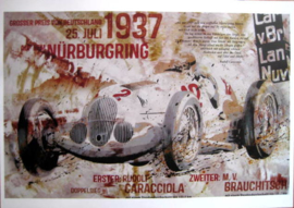 Grand Prix Nürburgring 1937 - Eiffel - Limited 50 Pcs.