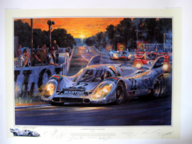 """ Darkness Becksons "" 12th-13th June Le Mans 1971 - The Record Breaking Porsche 917K"