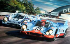 """"""" Le Mans 1971 """" Porsche 917 LH - Marko/van Lennep - Müller/Attwood"""