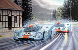 """Funambules II"" Porsche 917 K - 1000 km de Spa 1970 - Rodriguez/Kinnunen/Siffert/Redman"