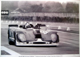 Porsche 908/2 #29 Herbert Linge/J.Williams - Camera Car For the Film Le Mans from Steve McQeen 1970