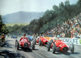 """Grand Prix du Comminges 1952"" - Alberto Ascari winner With Ferrari 500 #12"