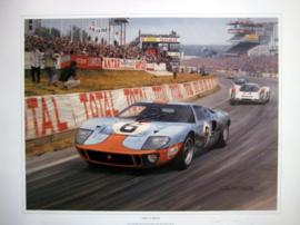 """1969 Le Mans"" - Winning Ford GT40 #6 Ikcx/Oliver"